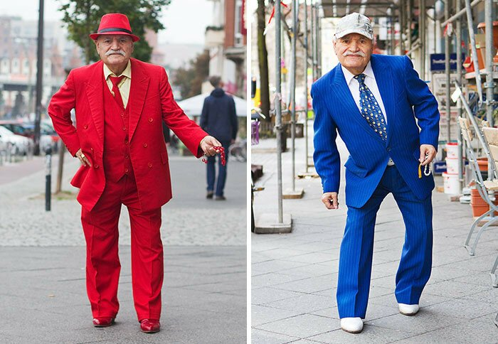 Every Morning, 86-Year-Old Tailor Goes To Work In Different Outfit