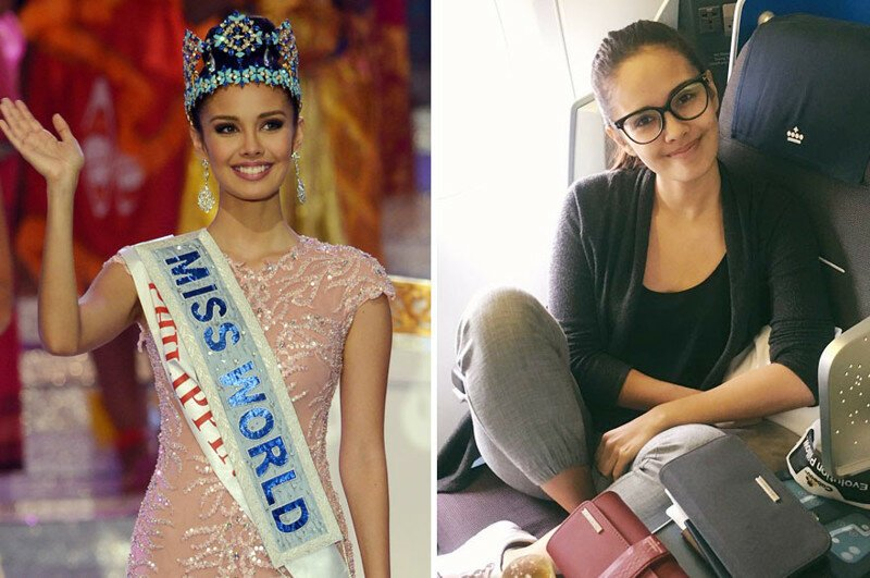 10+ Beauty Queens On The Catwalk Vs Real Life