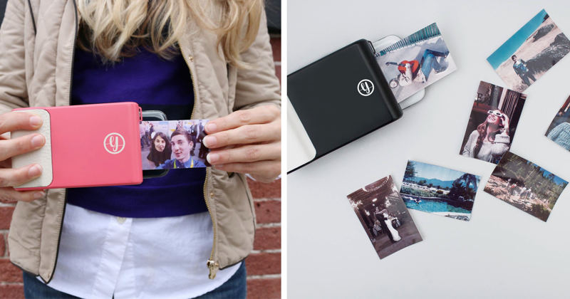 This Phone Case Prints Instant Photos Like A Polaroid