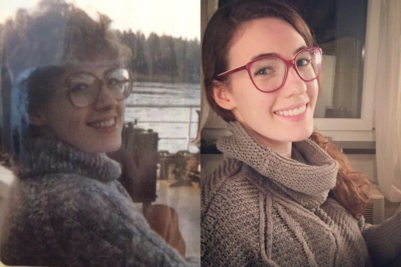 A 25-Year-Old And Her Mom Look Like Identical Twins In These Photos