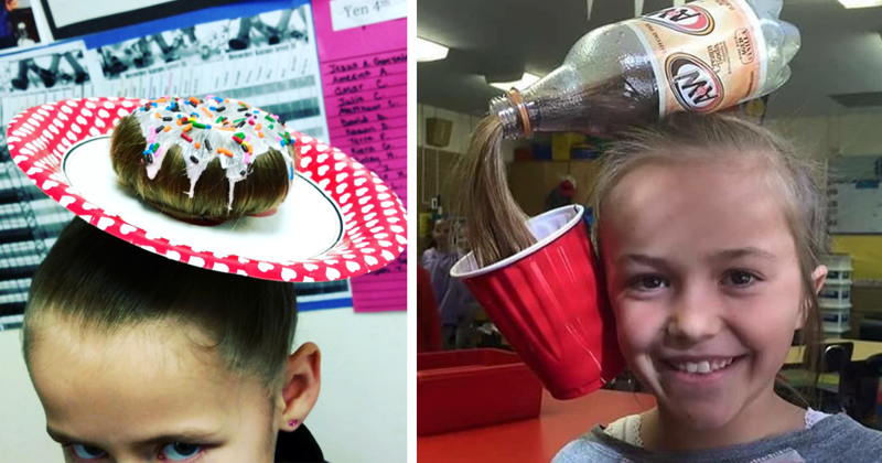 27 Of The Best Crazy Hair Day 'Dos Ever