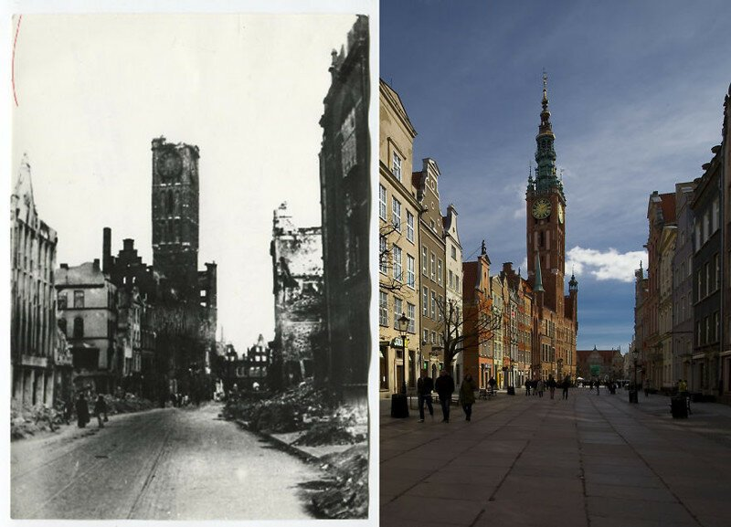 I Photograph Gdańsk -the Old City Destroyed In 90% During The War, Rebuilt By The Polish People