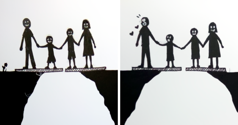 Divorce Summed Up In 7 Pics