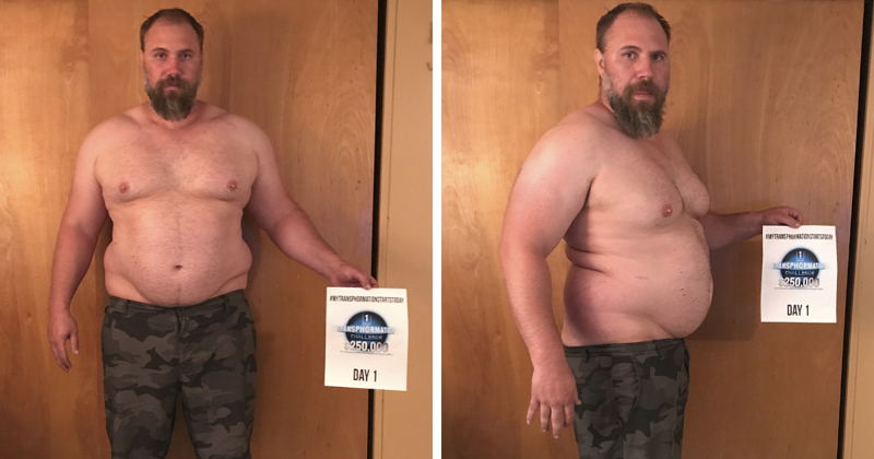 Father-Of-Three Realizes He Can't Keep Up With His Children, Transforms His Body Beyond Recognition