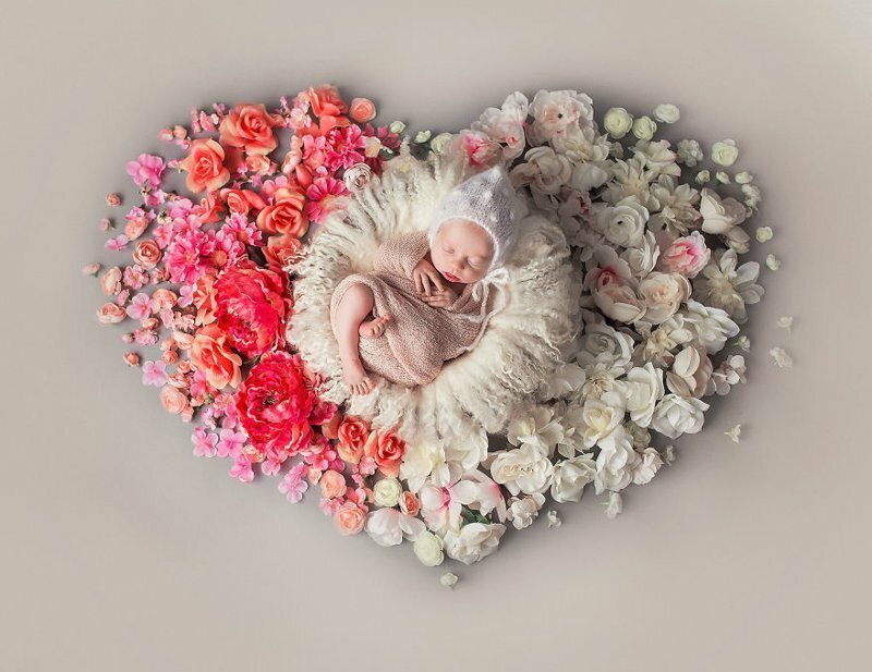 I Photograph Babies Surrounded By My Handmade Mandalas