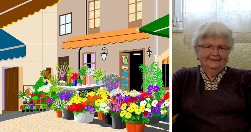 87-Year-Old Spanish Granny Is Killing It With Microsoft Paint