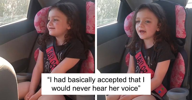 Mom Had Almost Accepted That She Would Never Hear Her 5 Y.O. Daughter's Voice