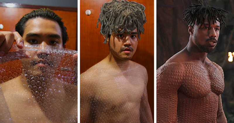 Cheap Cosplay Guy Strikes Again With Low-Cost Costumes, And Results Are Hilariously On Point