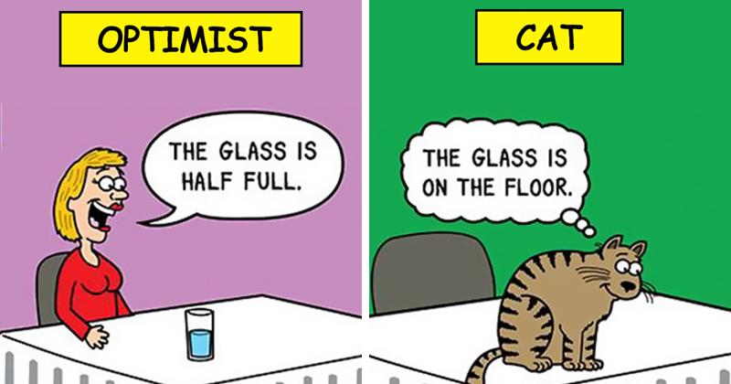 This Man Has Been Creating Cat Cartoons For Over 20 Years, And Here Are 40 Of The Best Ones