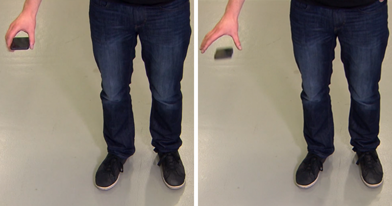 "Genius Student Invents ""Mobile Airbag"" That Deploys When You Drop Your Phone"