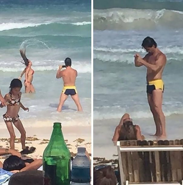 "People Are Sharing Pics Of Boyfriends ""Forced"" To Take Perfect Pictures Of Their Girlfriends"