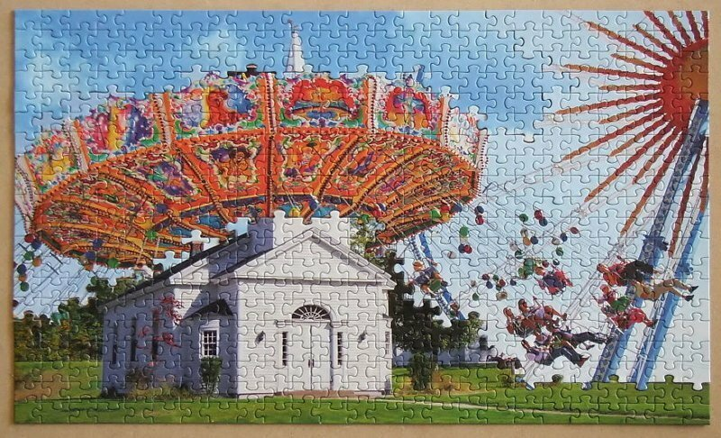 This Artist Came Up With A Genius Way To Uses Puzzles