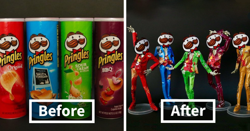 Japanese Artist Turns Product Packaging Into Art, And The Result Will Amaze You