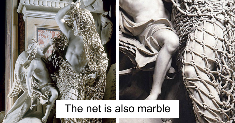 Italian Sculptor Creates Marble Masterpiece In 7 Years And People Can't Believe It's All Marble