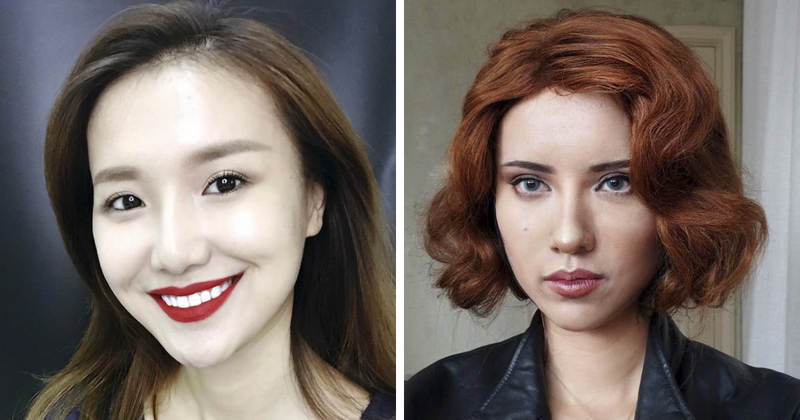 Chinese Woman Is A 'Human-Chameleon' That Uses Make Up To Transform Into Anyone She Wants