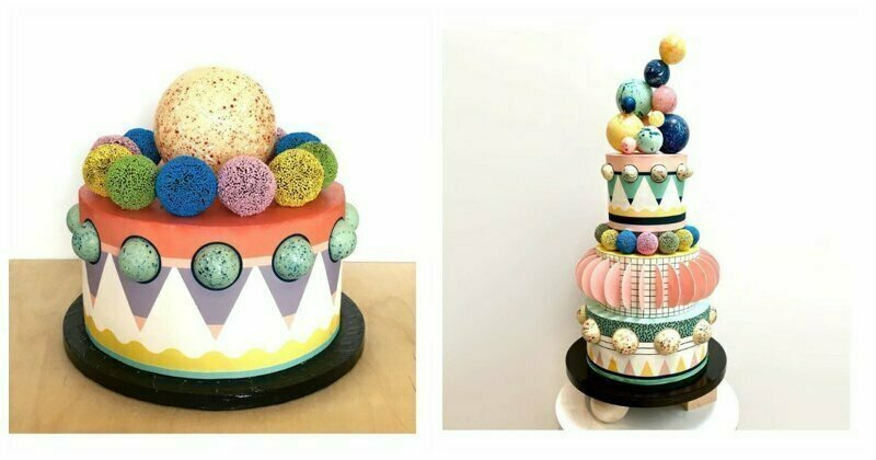 Post Modern Architectural Cakes By A Fashion Designer Turned Baker