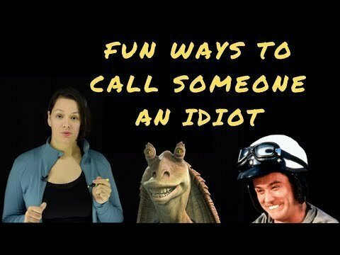 Creative Ways to Call Someone an Idiot