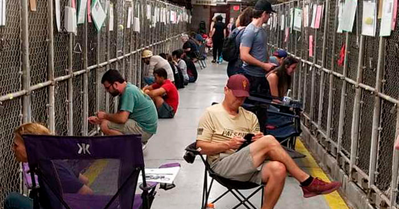 """Kindness Is Patriotic:"" People Are Skipping July 4th Fireworks To Spend Time With Shelter Dogs"