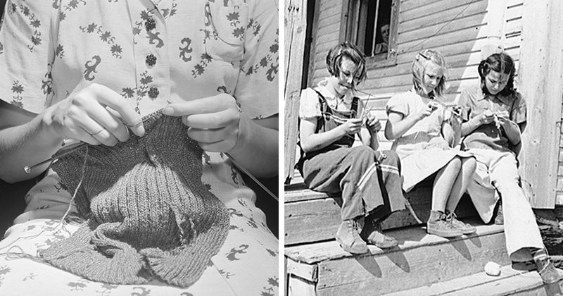 Here's How Knitting Was Used As A Tool To Spy On Enemies During Wartime