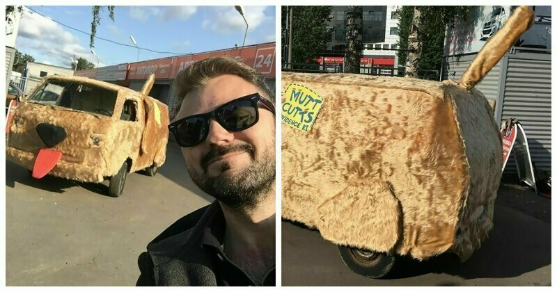 "Russian Artist Perfectly Recreated Mutt Cutts Van From ""Dumb And Dumber"""