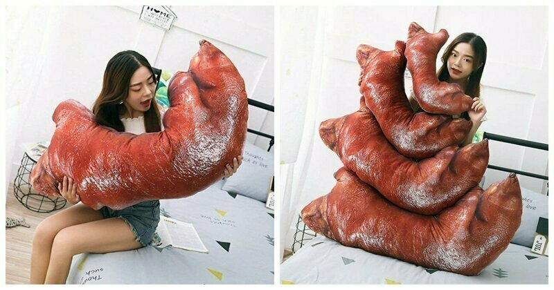 Realistic Pig's Feet Pillow: The Weirdest Thing On Amazon