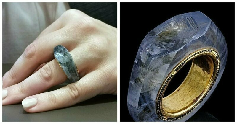 Exquisite 2,000-year-old sapphire ring thought to have belonged to Caligula goes on sale for $750000
