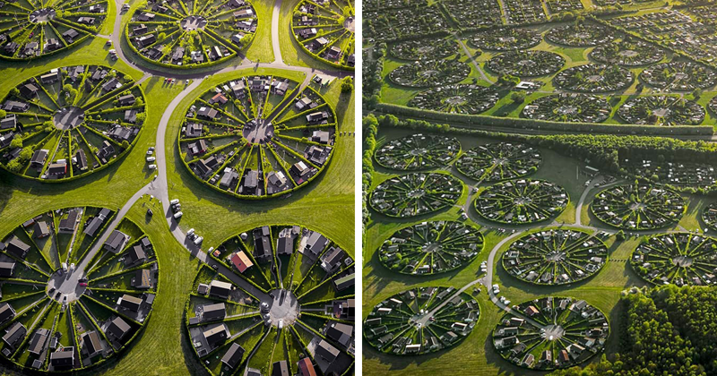 This Community In Denmark Lives In Surreal Circle Gardens