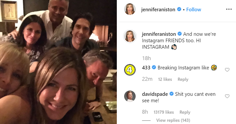 50 Y.O. Jennifer Aniston Joins Instagram For The First Time