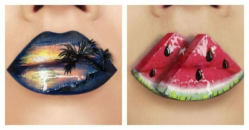 Ukrainian Makeup Artist Is Blowing Minds With Her Stunning Lip Art