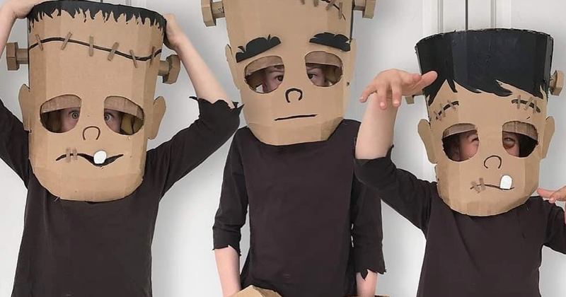 I Design Templates For People To Make Costumes Out Of Cardboard