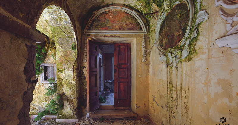 I Ventured Into The Italian Countryside And Found An Abandoned Monastery