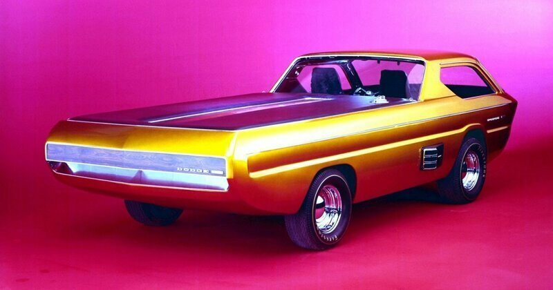The Best Photos Of The Spectacular One-Off 1965 Dodge Deora Pickup Truck