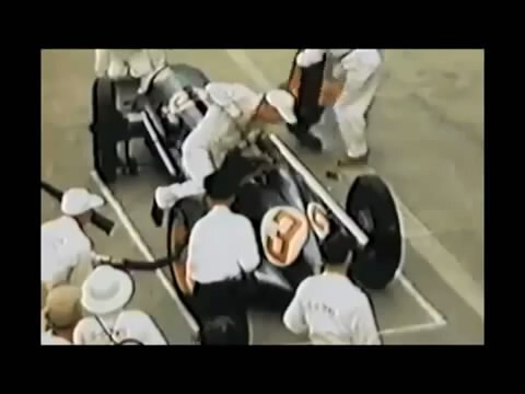 Формула 1, Пит-стоп - 1950 и сейчас.