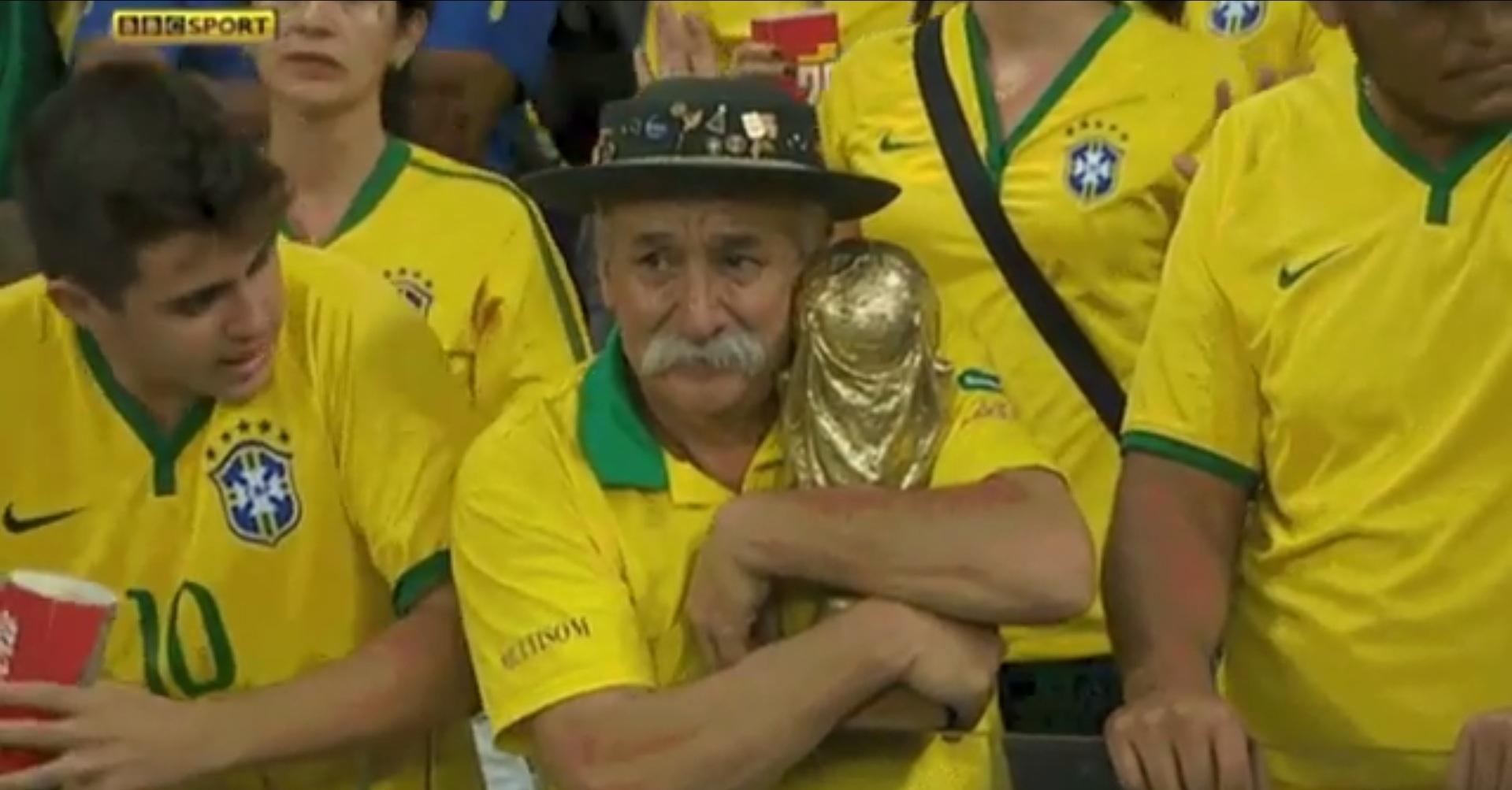 Самый грустный человек Чемпионата мира по футболу