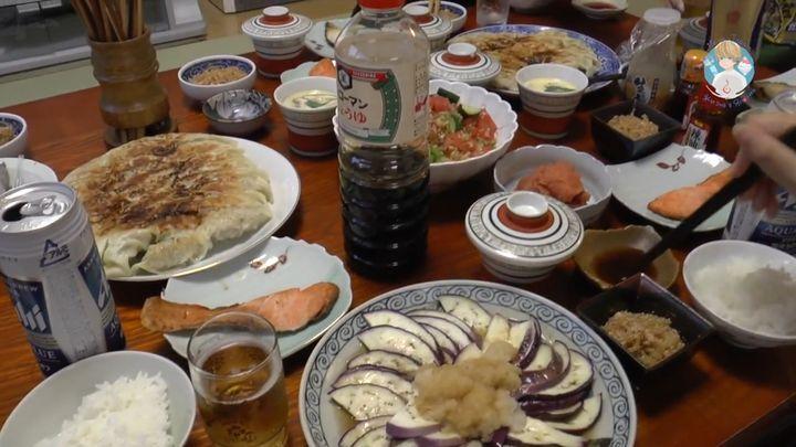 Что ест обычная японская семья на ужин