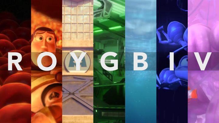 Мастерство Pixar по использованию цветов