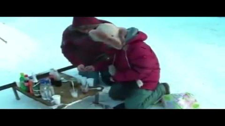 Обычные вещи при морозе - 60С Якутия