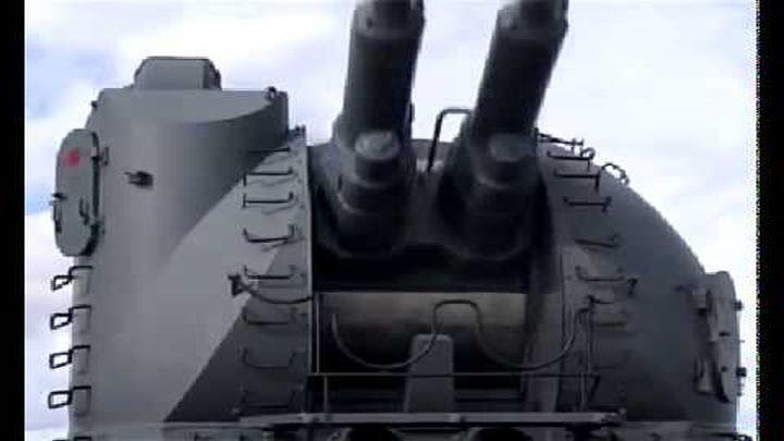 Крейсер Пётр Великий долбит!