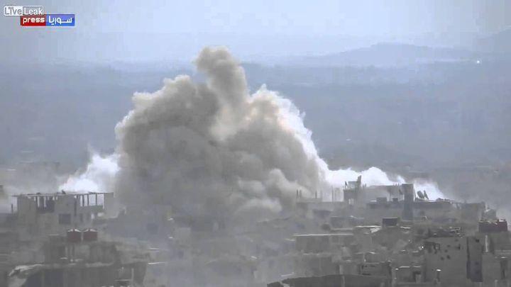 Взрыв мечети в Сирии