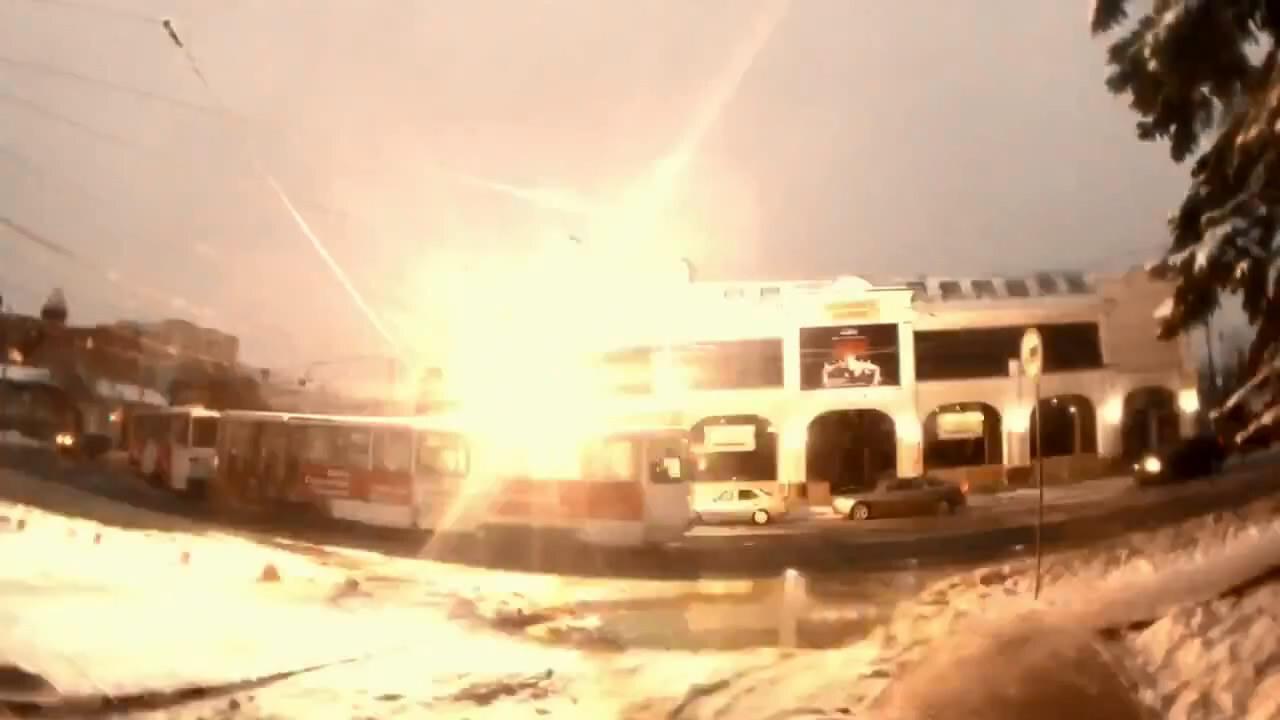 Челябинские трамваи с эфектами судного дня