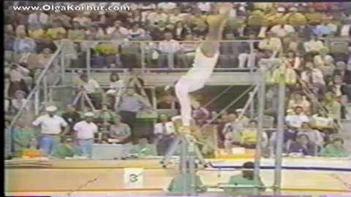 Легендарная гимнастка Ольга Корбут!