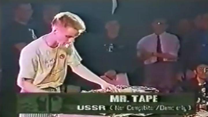 Первый советский DJ mix на бобине
