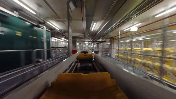 Это не хуже чем американские горки! Путь чемодана в аэропорту Амстердама