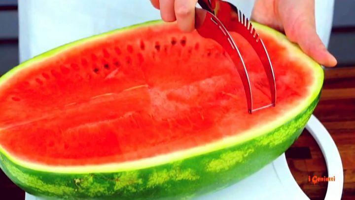 Инновационный нож для нарезки арбузов и дынь