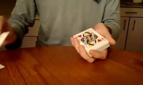 Необычная колода карт для фокусов
