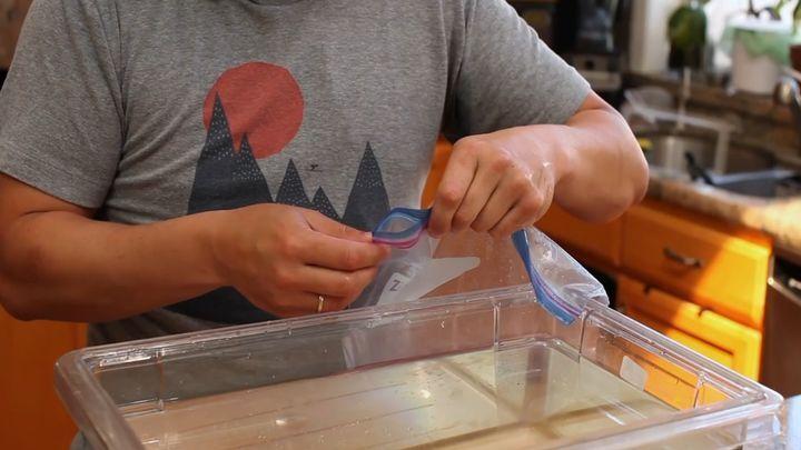 Как герметично запаковать еду без вакуумного упаковщика