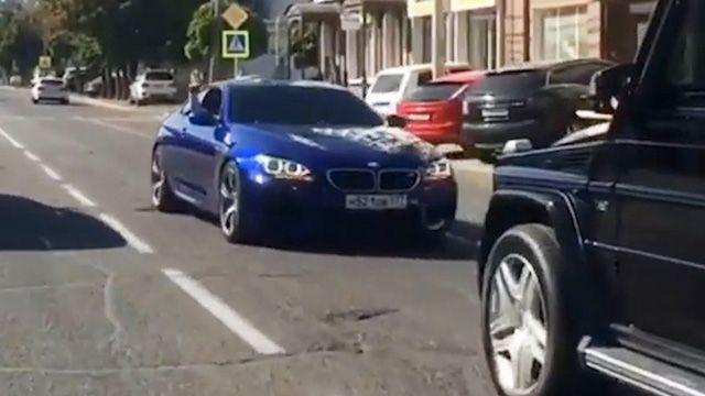 Краснодарского водителя, устроевшего дрифт на дороге, задержали