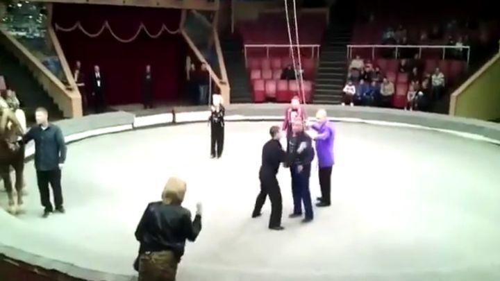 Не водите пьяных мужей в цирк!