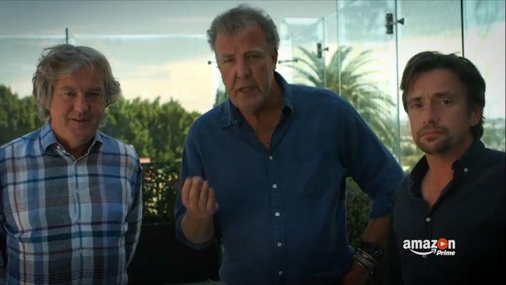 Кларксон, Мэй и Хаммонд пытаются кратко описать свое новое шоу