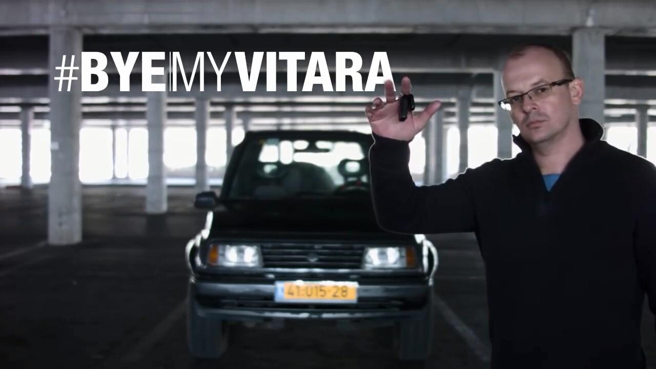 Владелец решил продать свою Suzuki Vitara и сделал небольшой рекламный ролик
